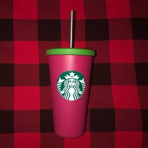 Starbucks Pink Siren Stainless Steel Cold Cup 16Oz